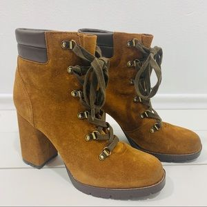 Sam Edelman boots booties leather shoes size 9.5